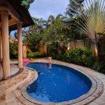 The pool in Villa E2