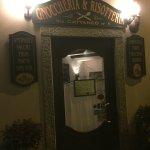 Entrata del ristorante, in pieno centro storico varesino!