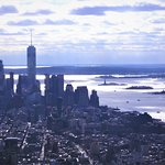 From The Empire State,across to Liberty