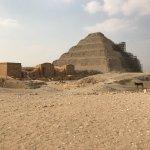 Pyramiden von Sakkara Foto
