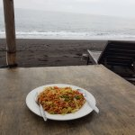 Mie goreng with chicken