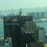 """""""Deluxe room"""" with view of harbour on 25th floor. Not worth paying for."""