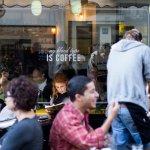 Cafe Alma, atmosphere of a European neighborhood in Tel Aviv