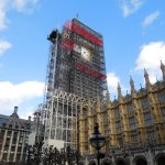 A well wrapped 'Big Ben'