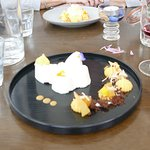 Our rather out of focus photo does not do justice to our pud!