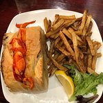 The best lobster roll I've ever had. Also, order the clam chowder with bacon, you'll thank me la
