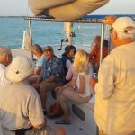 Another Beautiful Trip and perfect Sunset! Captain Dale   makes creates a Memorable experience!
