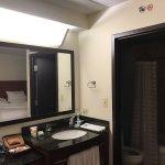 Shocking room decor for $380 per night