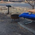 Our rundown campsite.