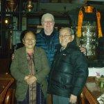 Diki & Ugen Tsering (Mama & Papa) and Basa Pete.
