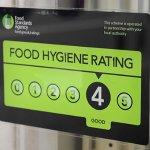 Food Hygiene Rating 4/5