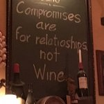 their wine is good