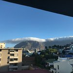 Clouds rolling off Tabletop Mountain