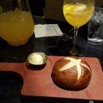 Pretzel Bread: Warm and taste