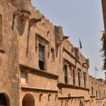 Palace of the Grand Master of the Knights of Rhodes Foto