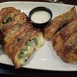 Spinach & Feta cheese rolls