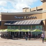 Front of & outdoor dining at Panera Bread