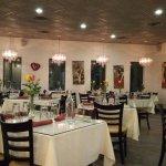 Decor inside restaurant
