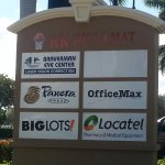 Hallandale Beach Blvd. sign for Panera Bread at RK Diplomat shopping center