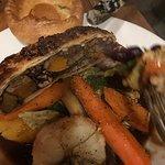 Veggie wellington roast