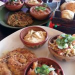 Mediterranean mixed plates