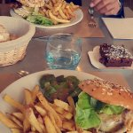 Hamburger du moment  Et brownie maison