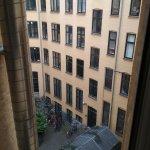 Вид из номера 303 (3-й этаж, рядом с reception)
