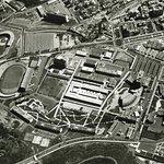 Foto no propia Imagen de los primeros años de la UCV. Aún faltaban construcciones.