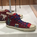Indian-style Converse