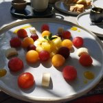 Hotel restaurant breakfast