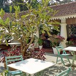 Siolim House central courtyard