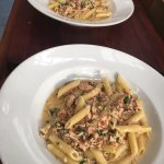 Rummo Penne with South Island smoked salmon