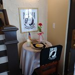 What would an American Legion Post be without a POW/MIA memorial table?