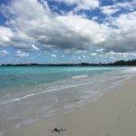 Long beach, practically empty
