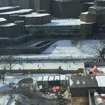 Le Canal Rideau vue de mon hôtel, Westin Ottawa! Aussi à l'extérieur!