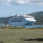 Ship at Mystery Island