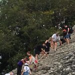 We weren't sure we were going to be able to hike the pyramid based on conflicting blogs.