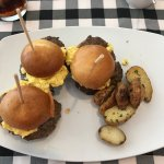Breakfast sliders & potatoes