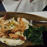 Shrimp, pork chops and Pollo Scarpiello. All delicious.