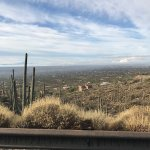 View of Tucson early on the drive