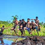 This is a wetland which use for Mud Bath and it is famous to enjoy a Mud Bath with family or fri