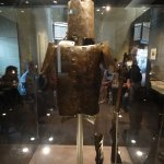Ned Kelly's armour from the back