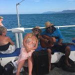 Fantastic day on the Wavedancer, Not over crowded. Friendly staff even providing entertainment o