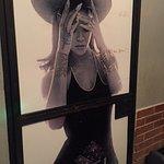 Rihanna loitering in the washroom