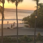 Sunset from the room balcony - took panoramic photo of the entire view but it is too big to uplo