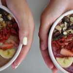 The Nutty / The Berry and Buchu smoothie bowls