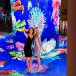 Interactive Floor and Aquarium Pillar
