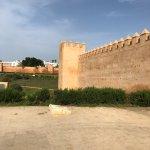 Chellah Exterior walls