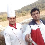 Awesome and magical chef Manohar...@barbeque bay club mahindra.....