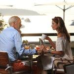 Déjeuner face à la Riviera